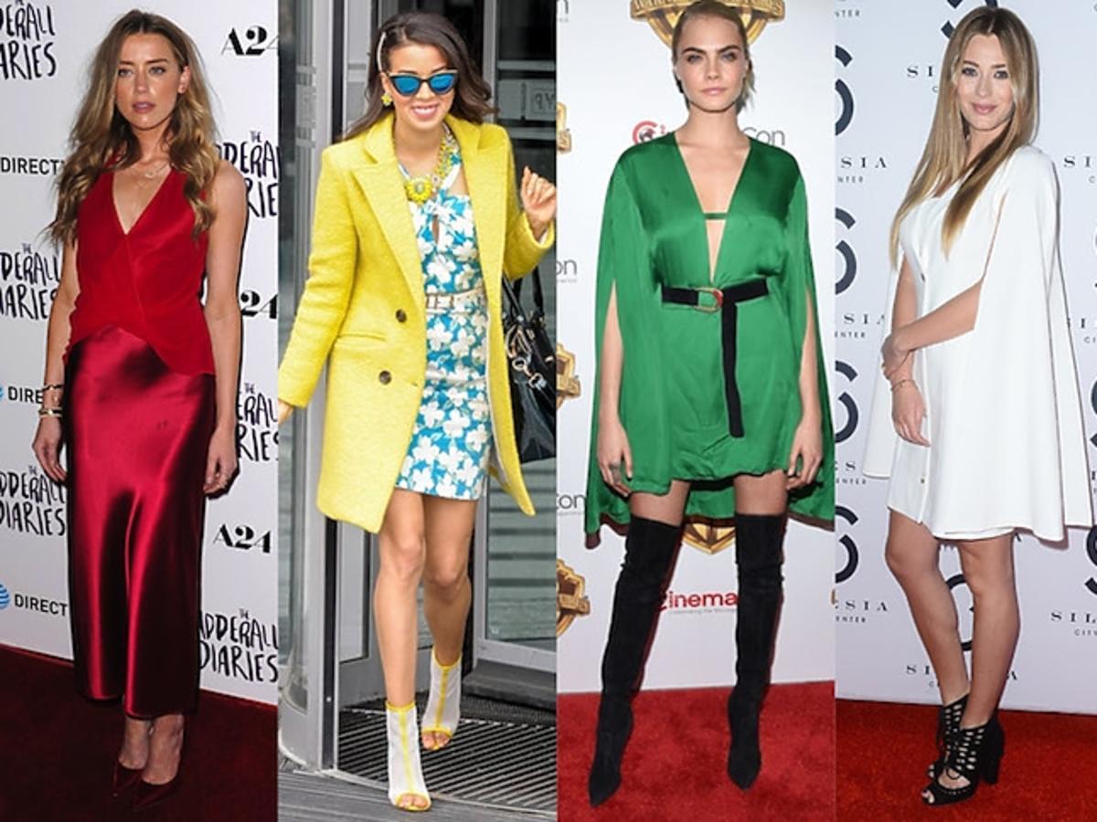 Amber Heard, Macademian Girl, Najlepsze stylizacje: Cara Delevingne, Marcelina Zawadzka, Jessica Chastain