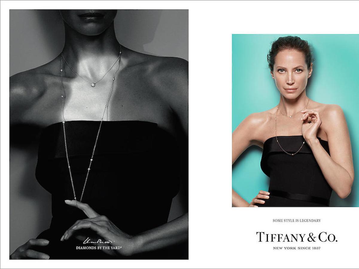 Christy Turlington w kampanii Tiffany & Co.