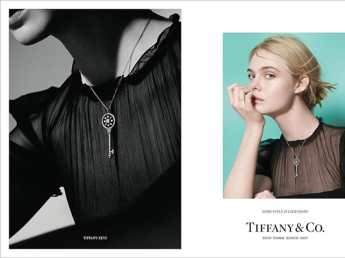 Elle Fanning w kampanii Tiffany & Co.