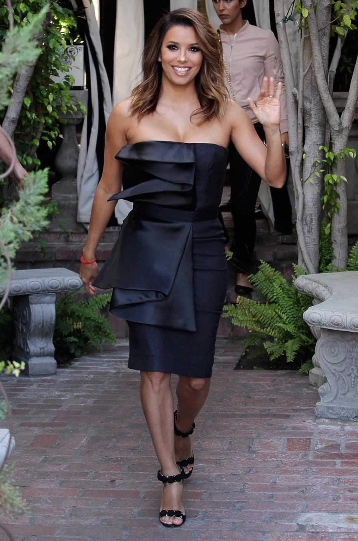 Eva Longoria w drodze na premierę filmu
