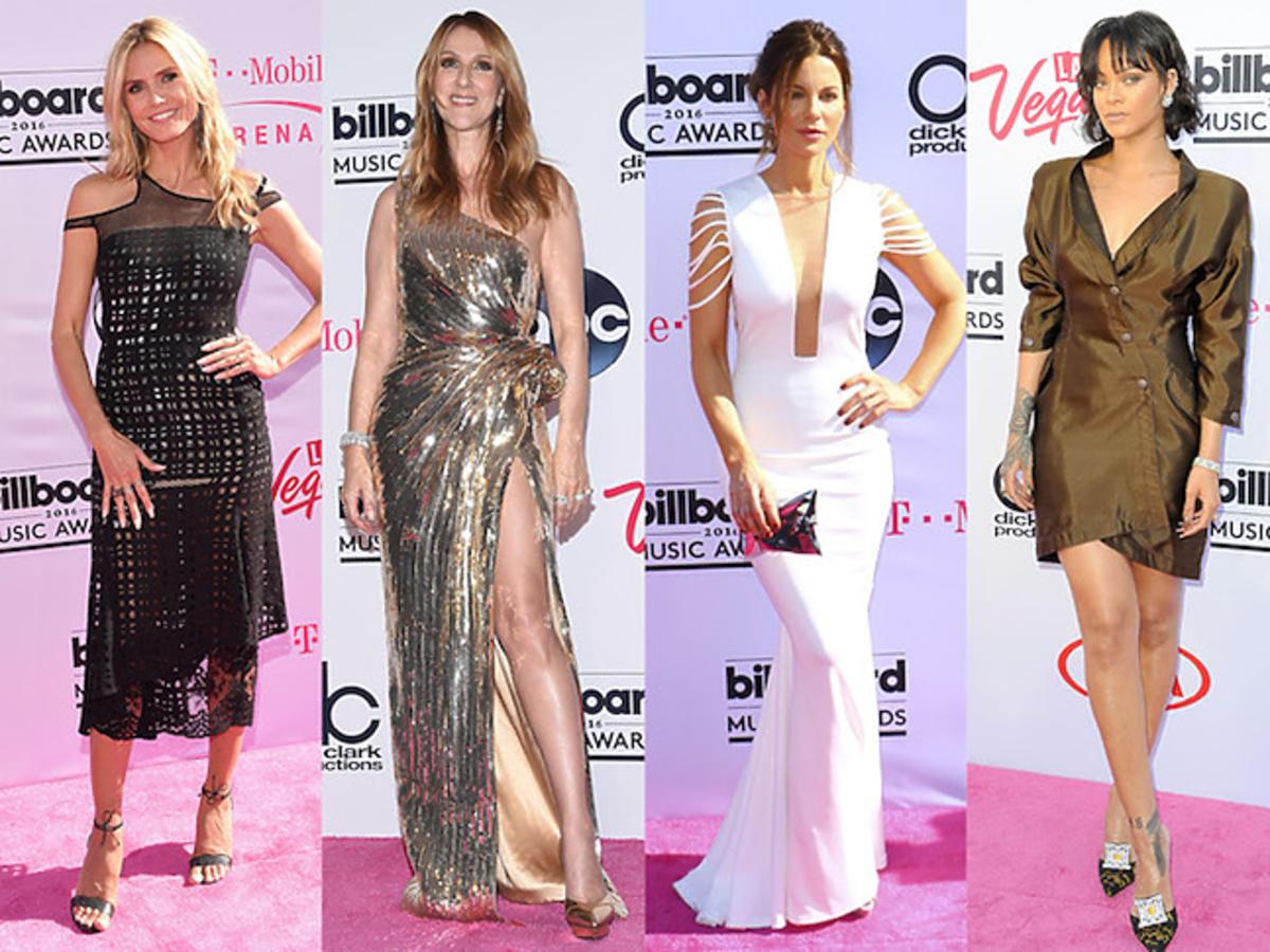Heidi Klum, Celine Dion, Kate Beckinsale, Rihanna i Jessica Alba na gali Billboard Music Awards 2016