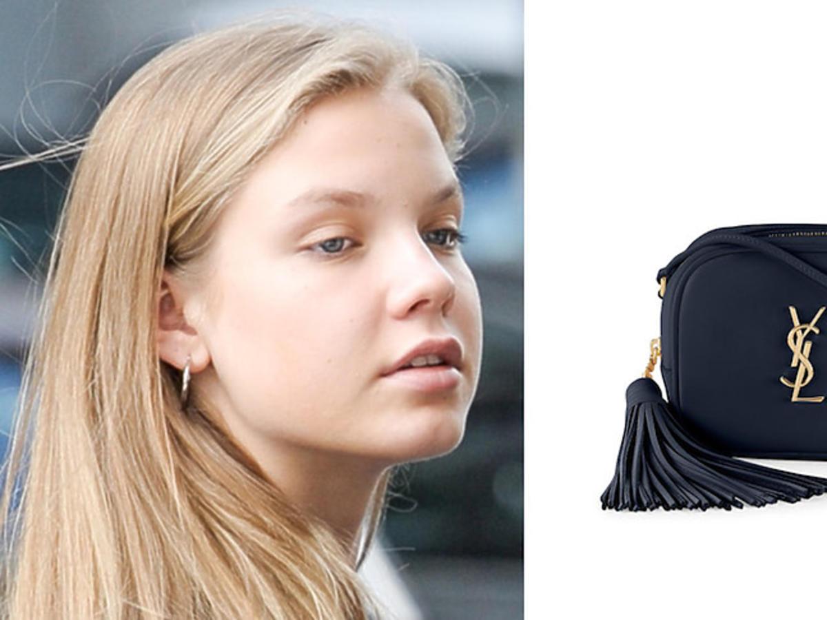 Iga Lis i torebka Monogram Saint Laurent Blogger Bag za ponad 3 tysiące złotych