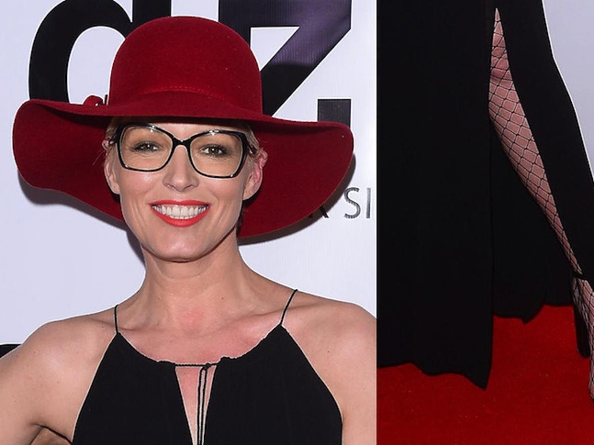 Jesienny kapelusz, letnia sukienka i kabaretki Ilony Felicjańskiej