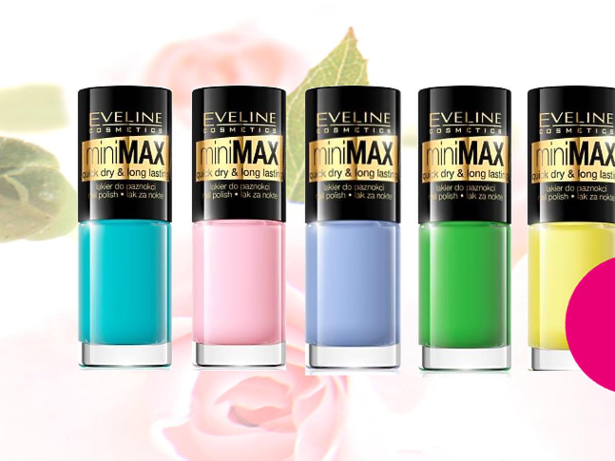 Lakiery do paznokci MiniMax od Eveline Cosmetics