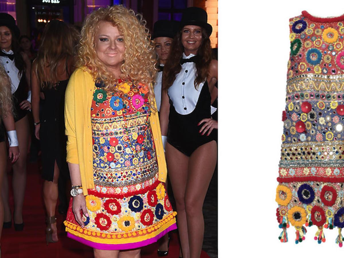 Magda Gessler i sukienka Dolce & Gabbana z wiosennej kolekcji