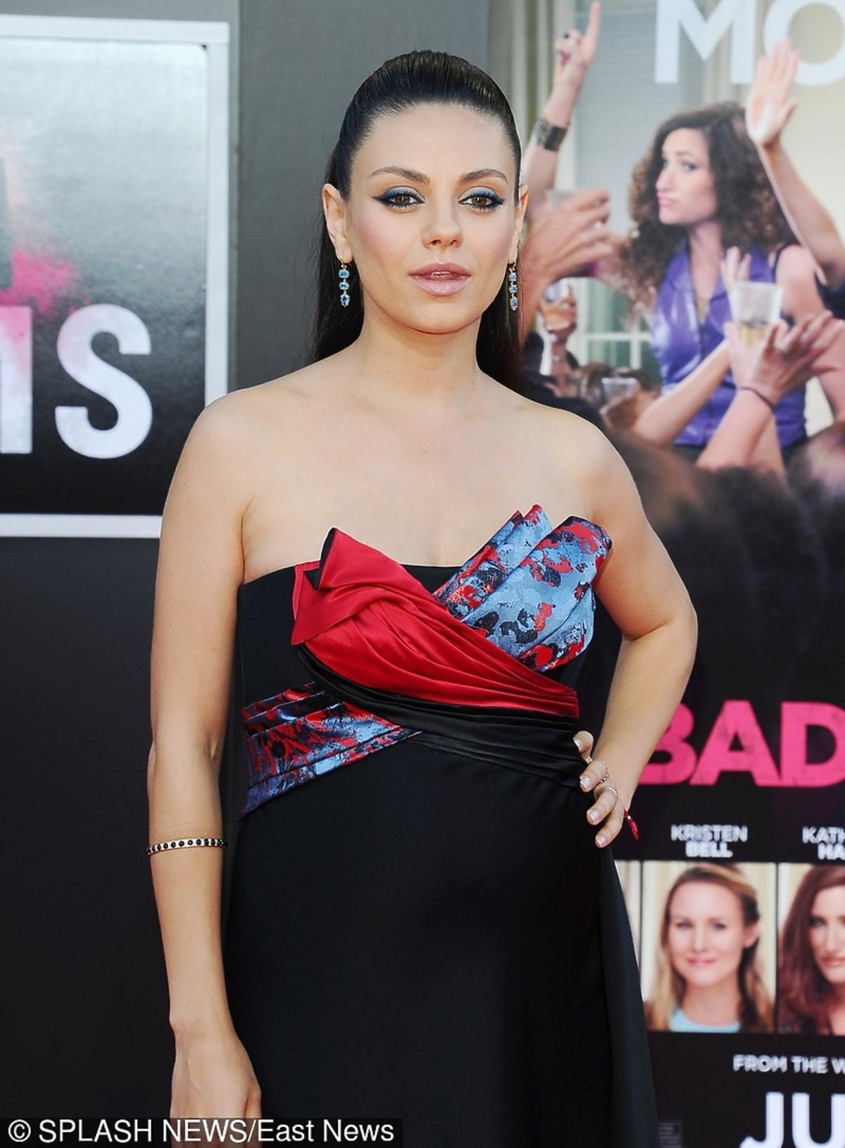 Mila Kunis na premierze filmu