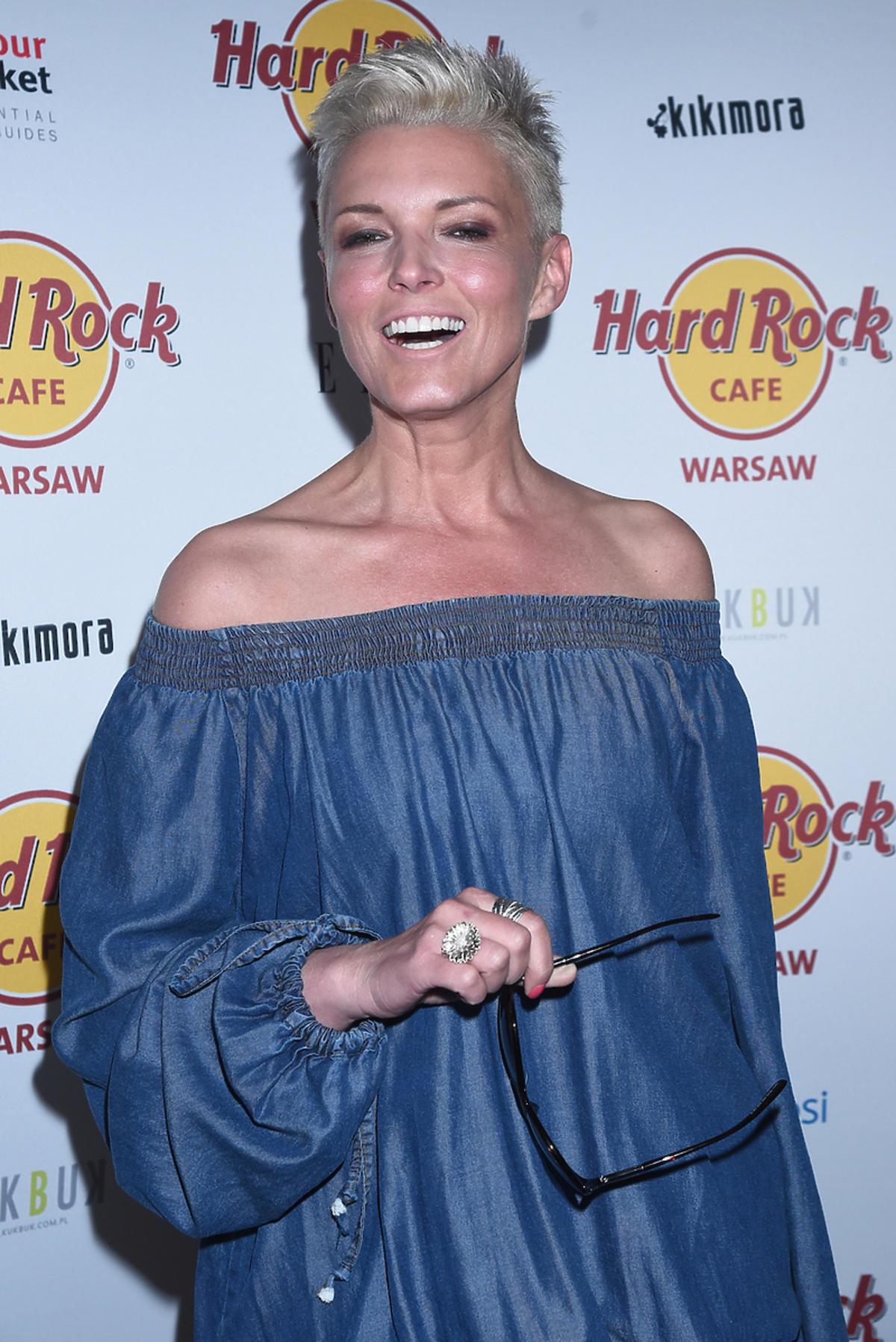Modowa wpadka Ilony Felicjańskiej na urodzinach Hard Rock Cafe