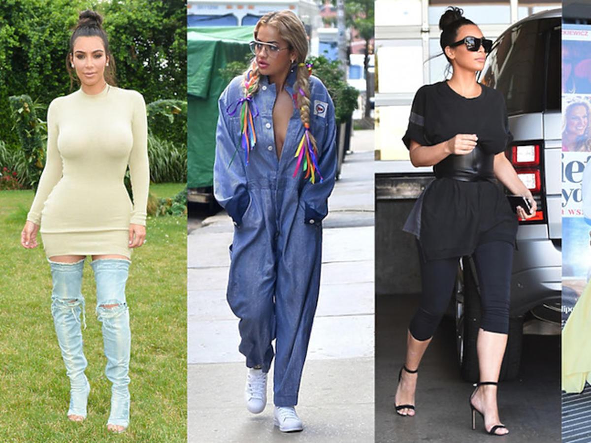 Modowe wpadki: Kim Kardashian, Rita Ora i Alżbeta Lenska w nieudanych stylizacjach