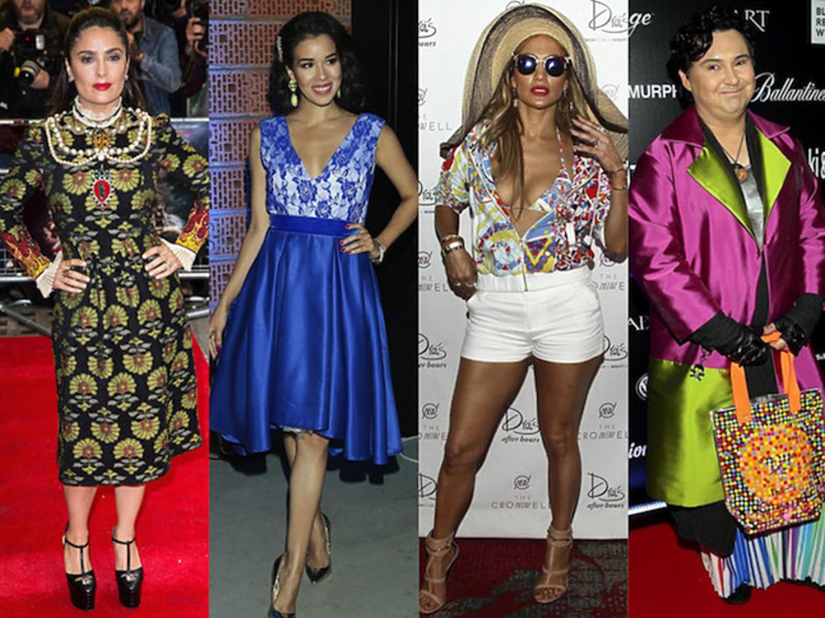 Najgorsze stylizacje tygodnia: Salma Hayek, Macademian Girl, Jennifer Lopez, Michał Witkowski, Pink