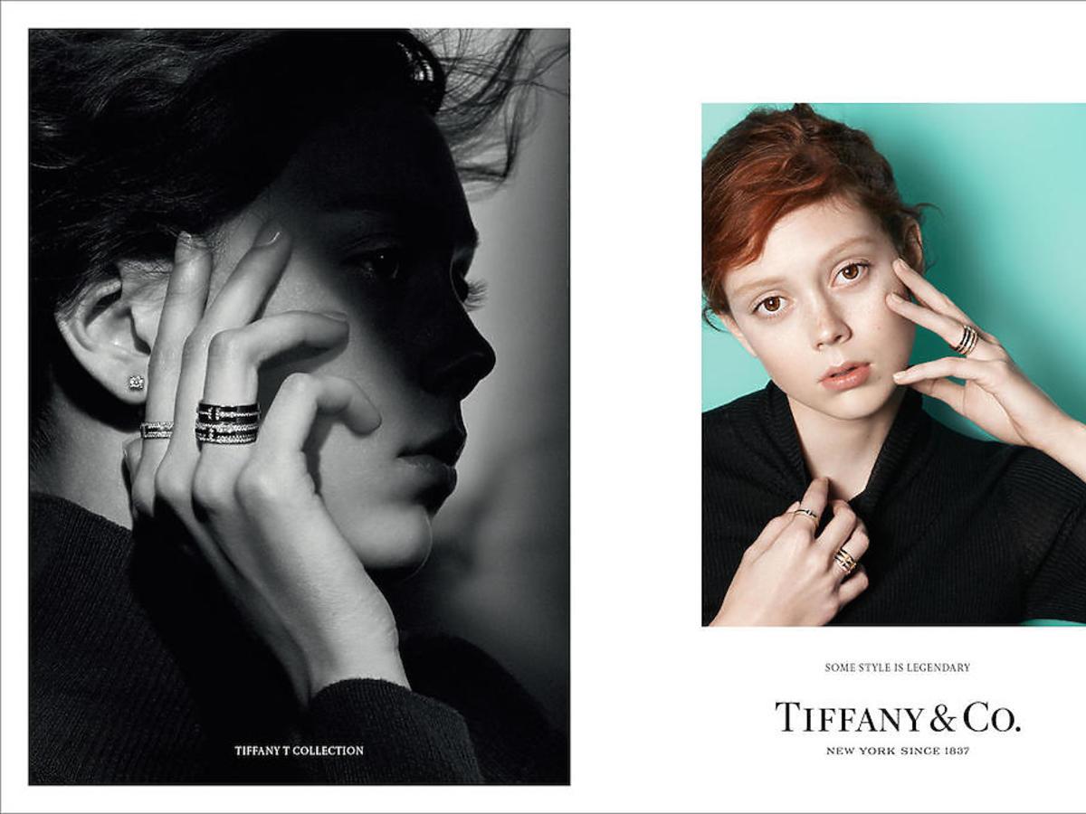 Natalie Westling w kampanii Tiffany & Co.