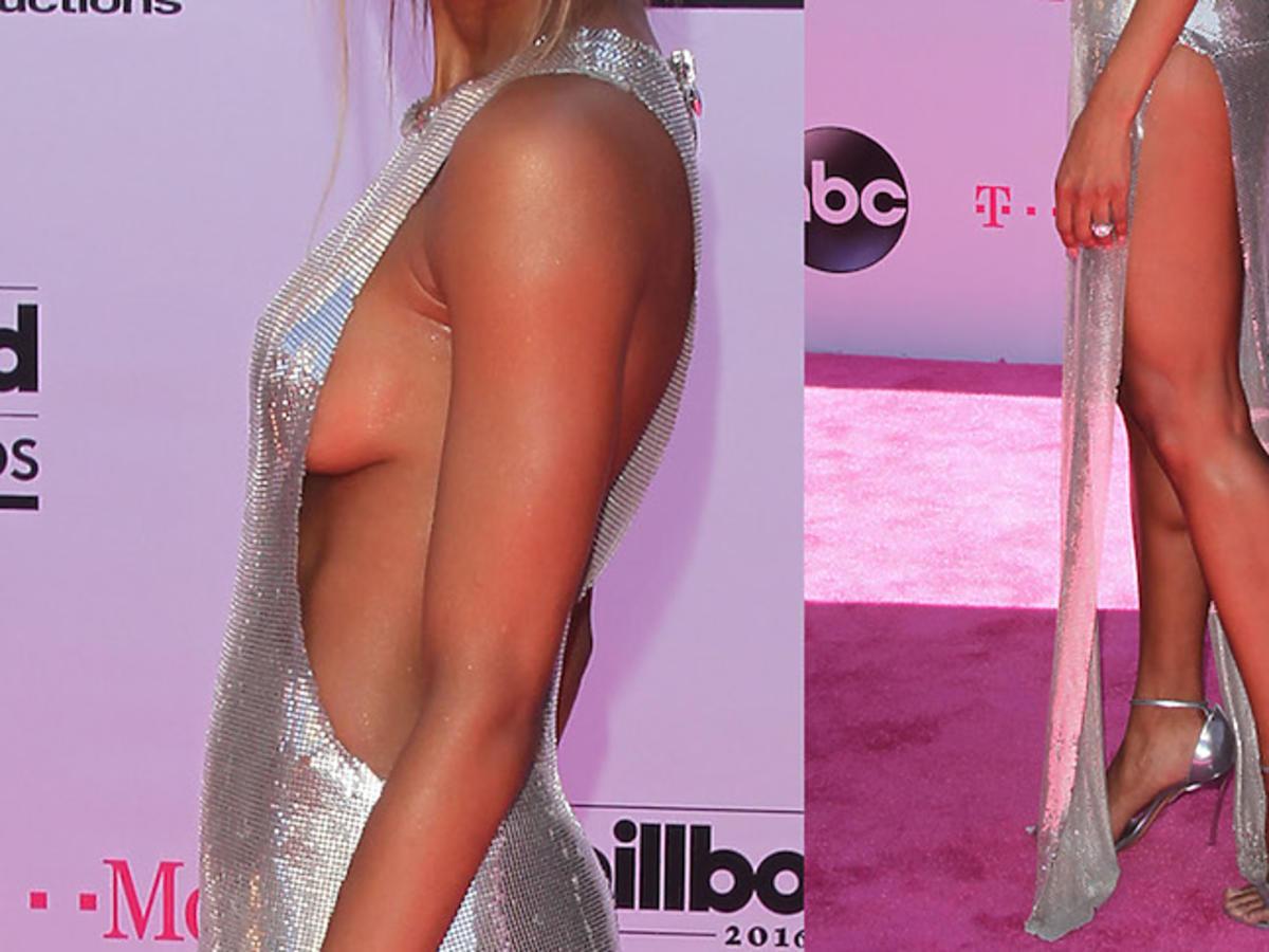 Seksowna Ciara odsłania piersi i nogi w odważnej kreacji na Billboard Music Awards