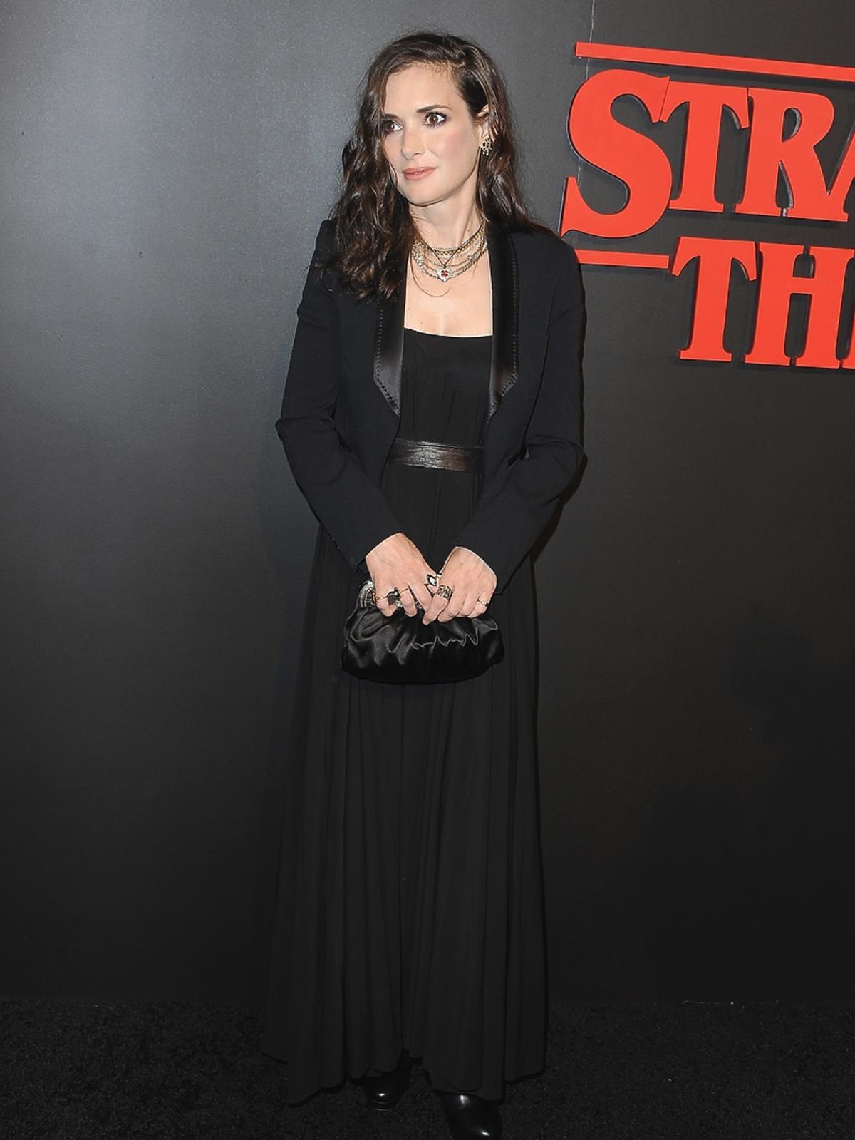 Winona Ryder na premierze serialu