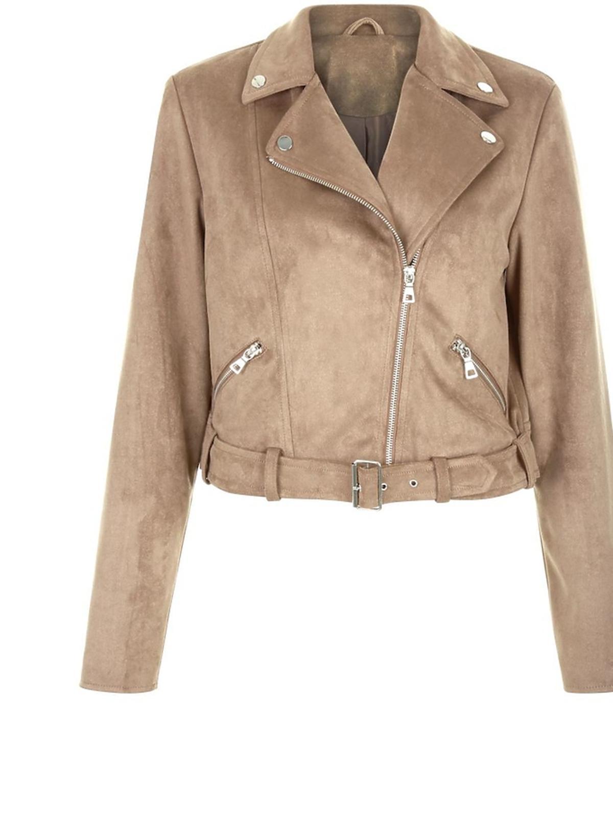 Zamszowa kurtka marki New Look, 149,90 zł