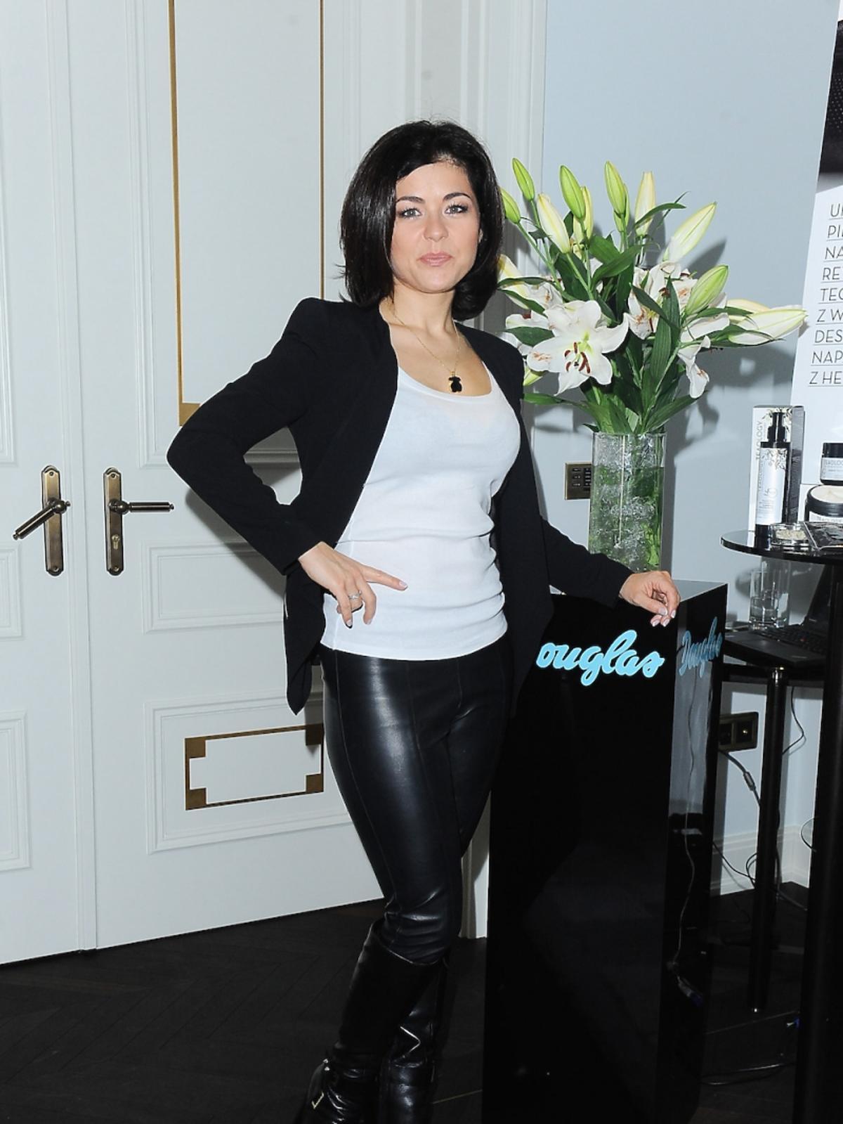Katarzyna Cichopek na prezentacji kosmetyków