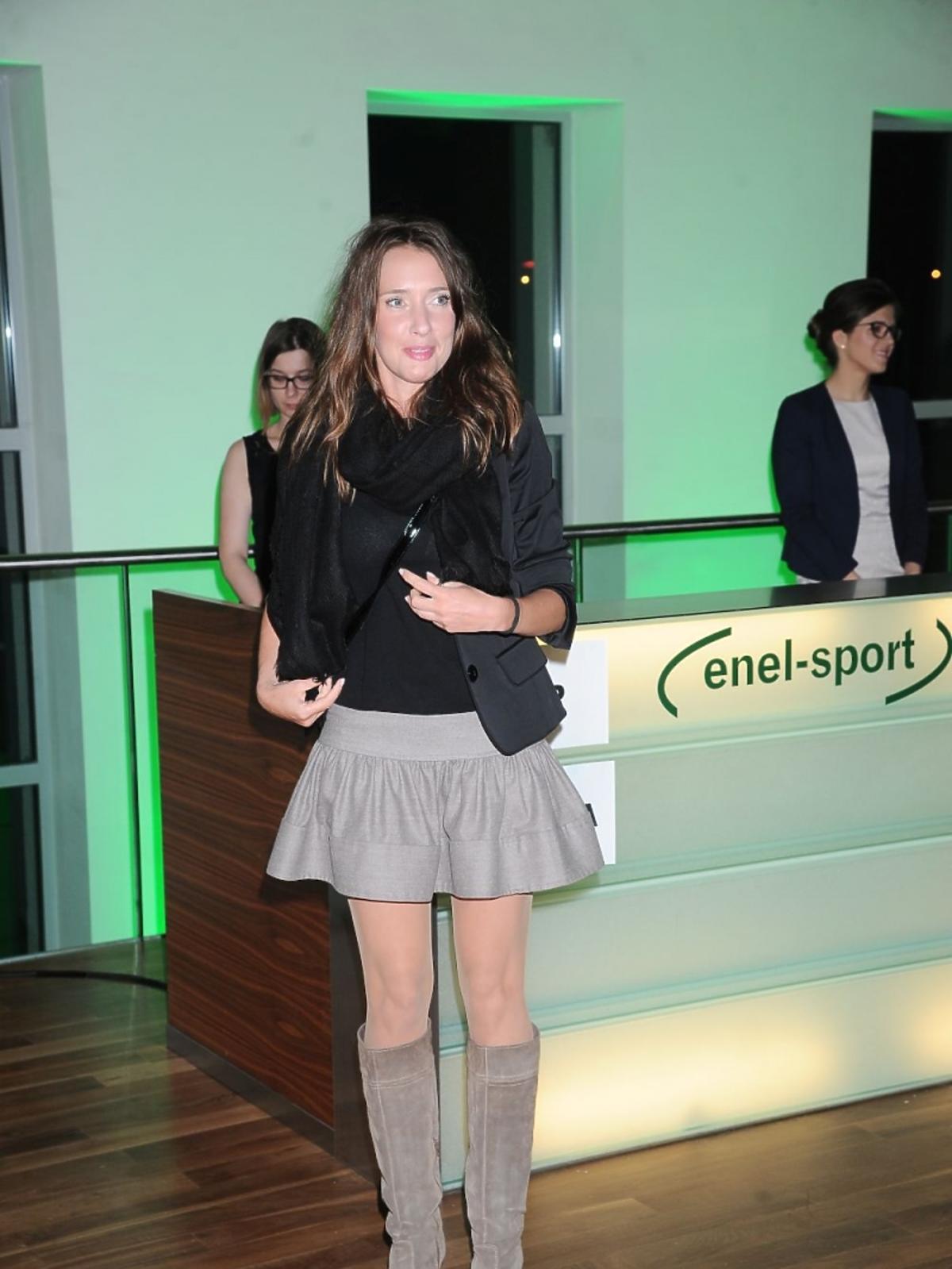 Maria Góralczyk w krótkiej mini na konferencji Enel-med