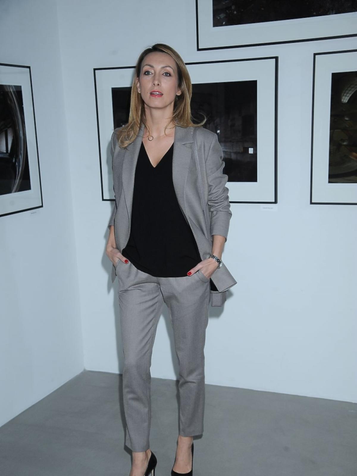 Anna Kalczyńska na wystawie zdjęć