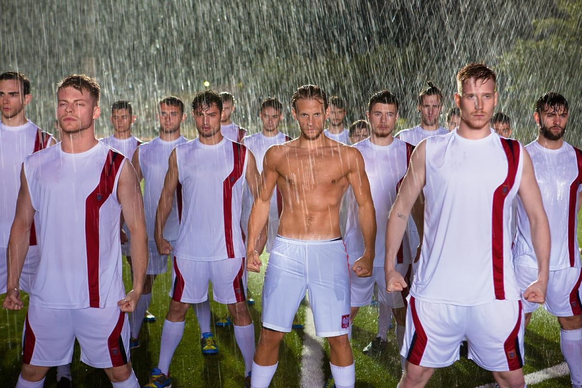 Piłkarze na planie filmu WszystkoGra