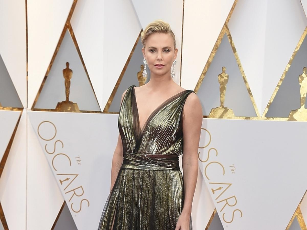 Gala Oscarów 2017 Charlize Theron