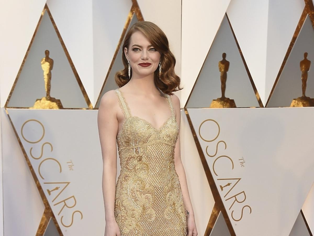 Gala Oscarów 2017 Emma Stone