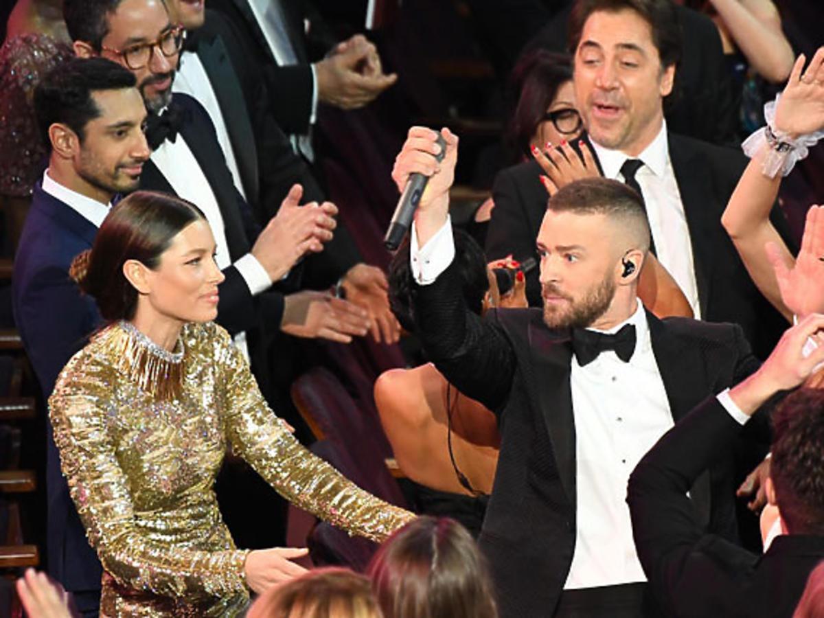 Justin Timberlake na Oscarach 2017  - występ