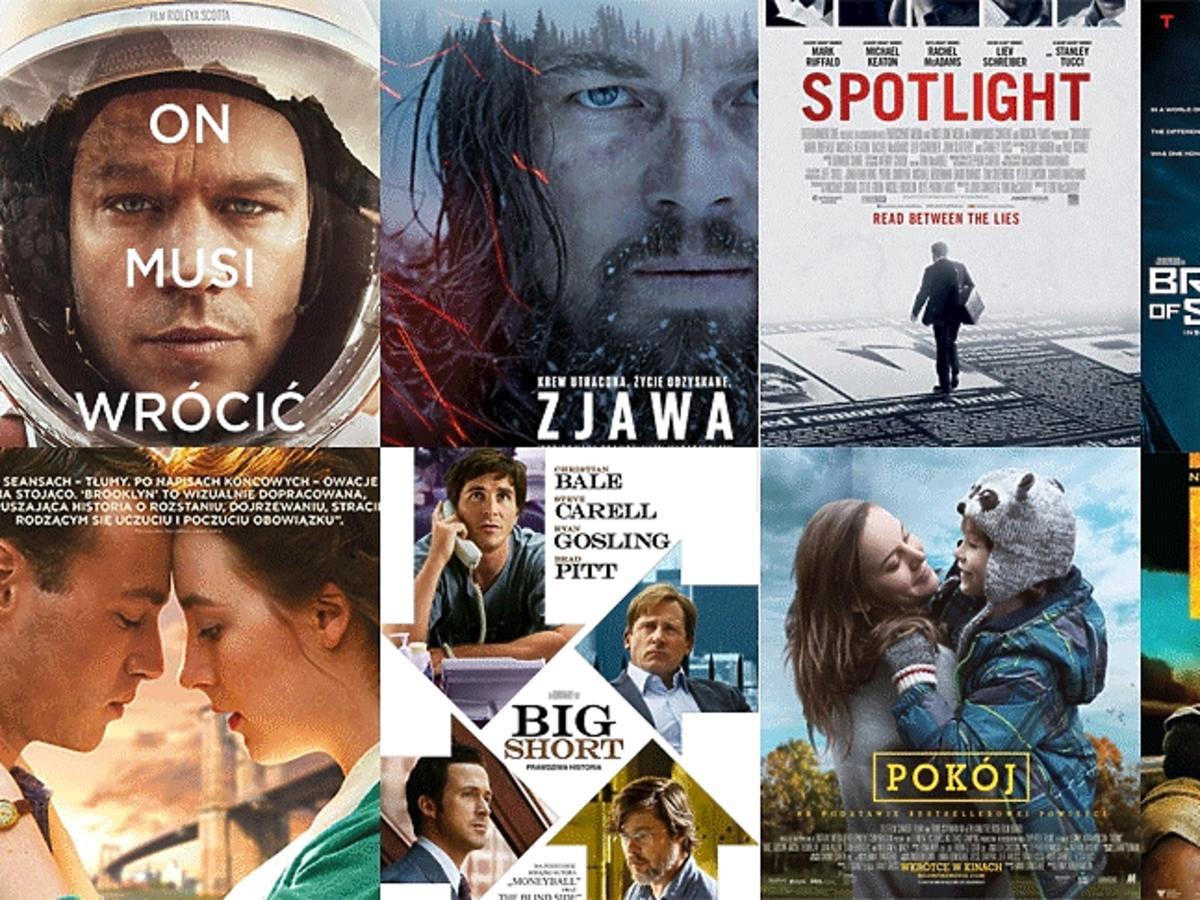 Oscary - plakaty filmów nominowanych do Oscara
