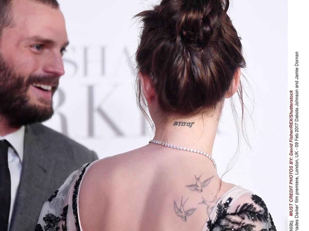 Tatuaże Dakoty Johnson - zdjęcia