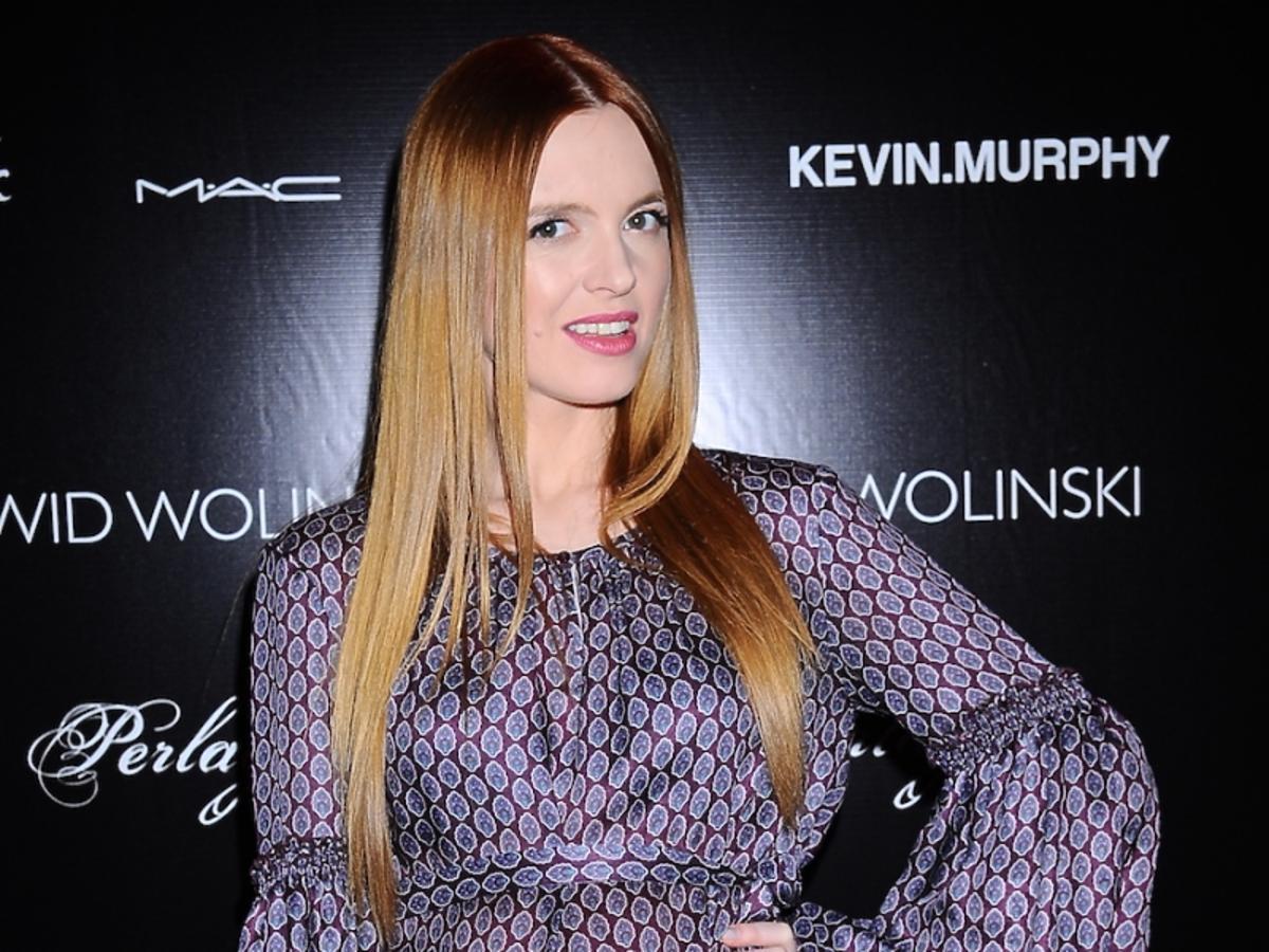 Katarzyna Burzyńska w ciąży