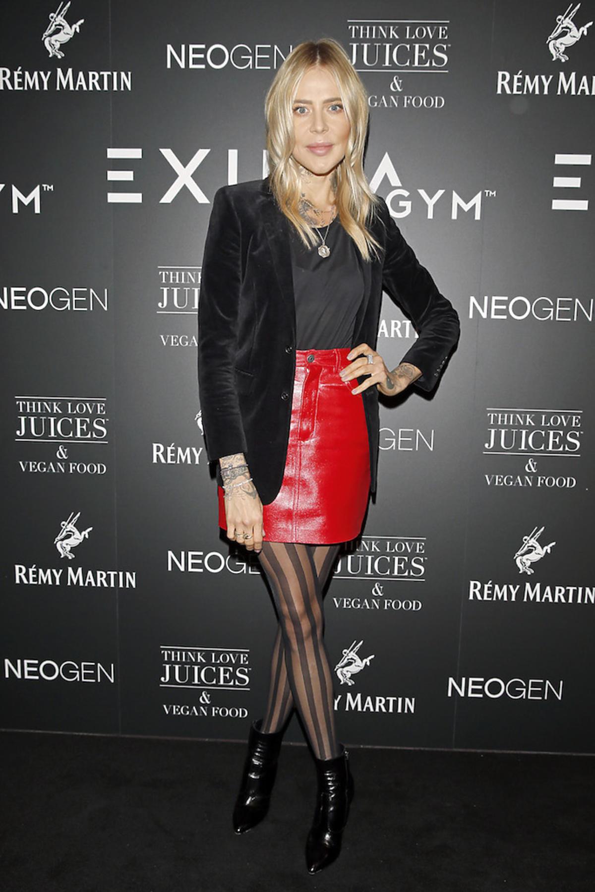 Maja Sablewska na otwarciu siłowni EXUMA GYM