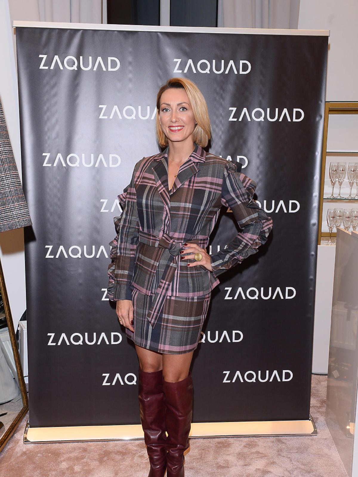 Anna Kalczyńska na imprezie Zaquad