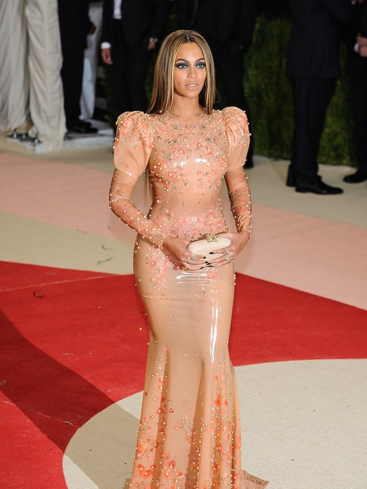 Beyonce Knowles na MET Gala 2016 w Nowym Jorku