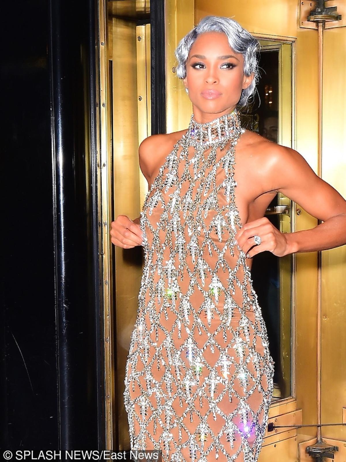 Ciara Stuns na MET Gala 2016 w Nowym Jorku