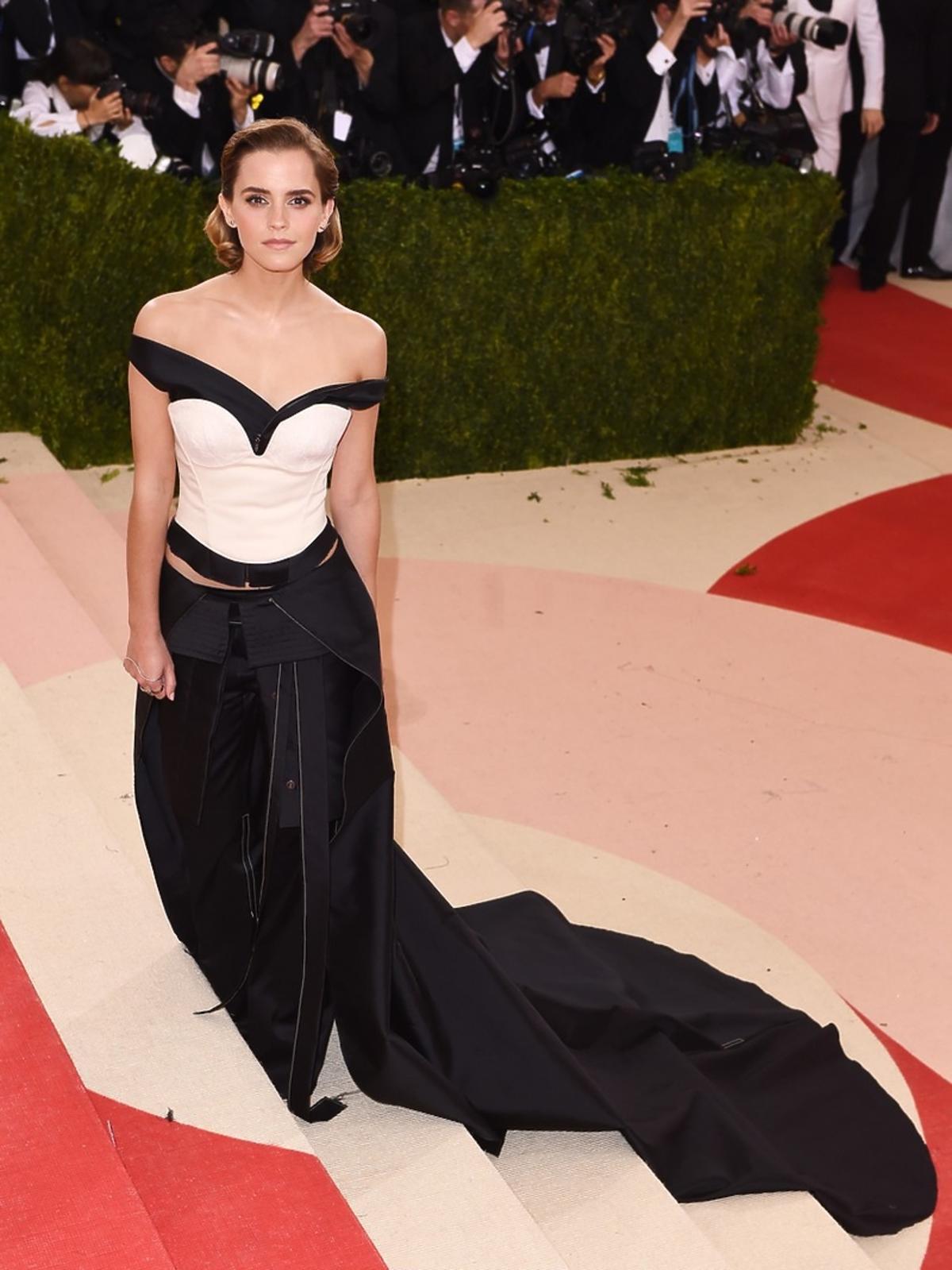 Emma Watson na MET Gala 2016 w Nowym Jorku