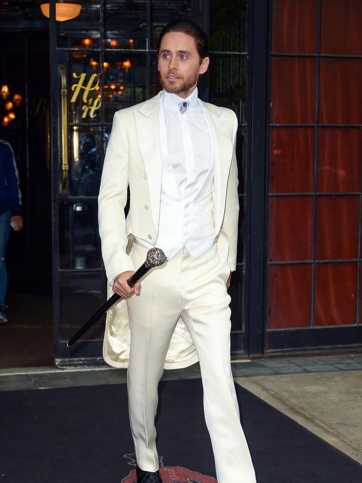 Jared Leto na MET Gala 2016 w Nowym Jorku