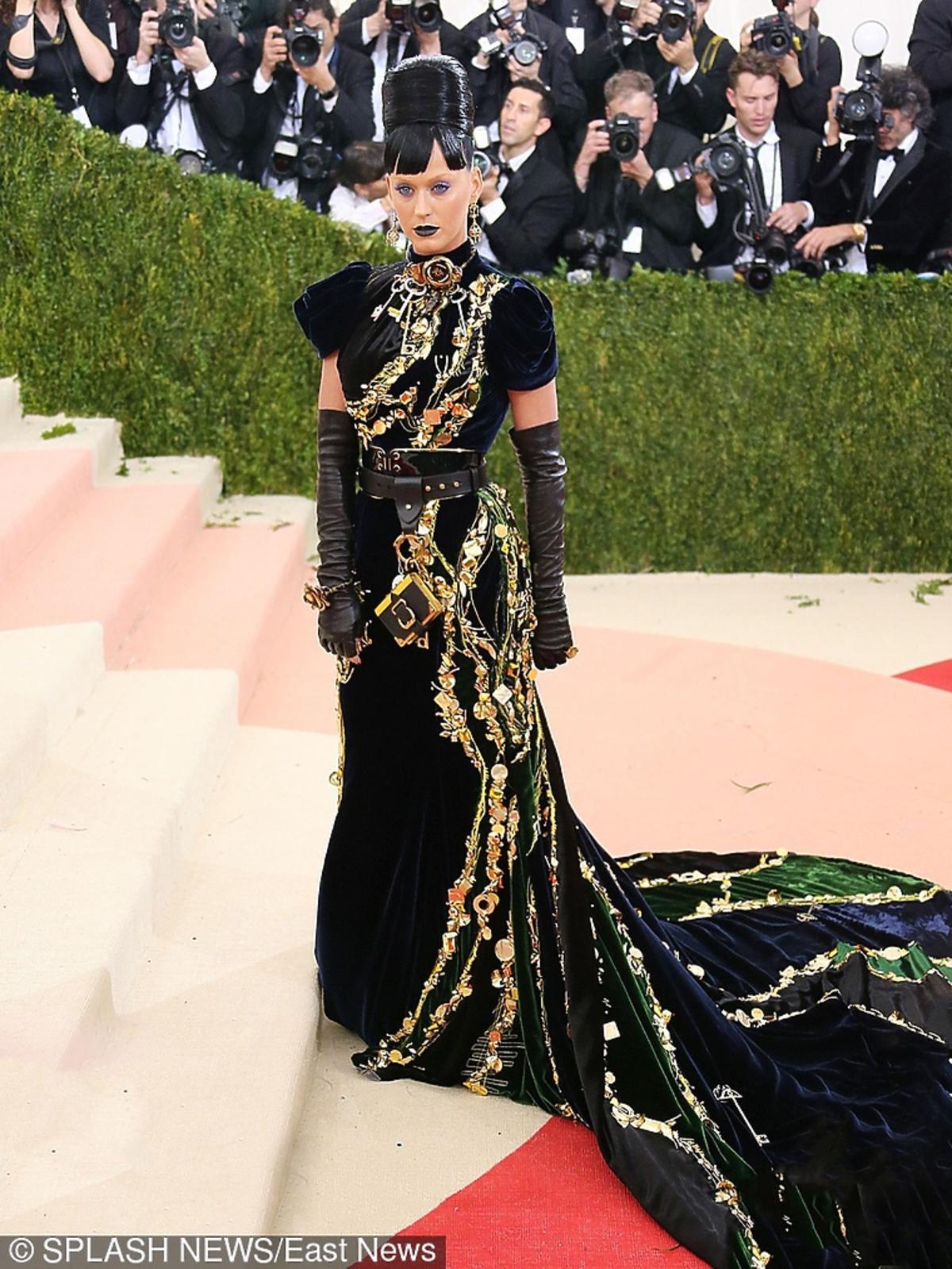 Katy Perry na MET Gala 2016 w Nowym Jorku