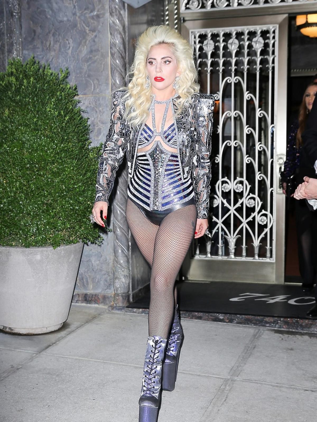 Lady Gaga na MET Gala 2016 w Nowym Jorku