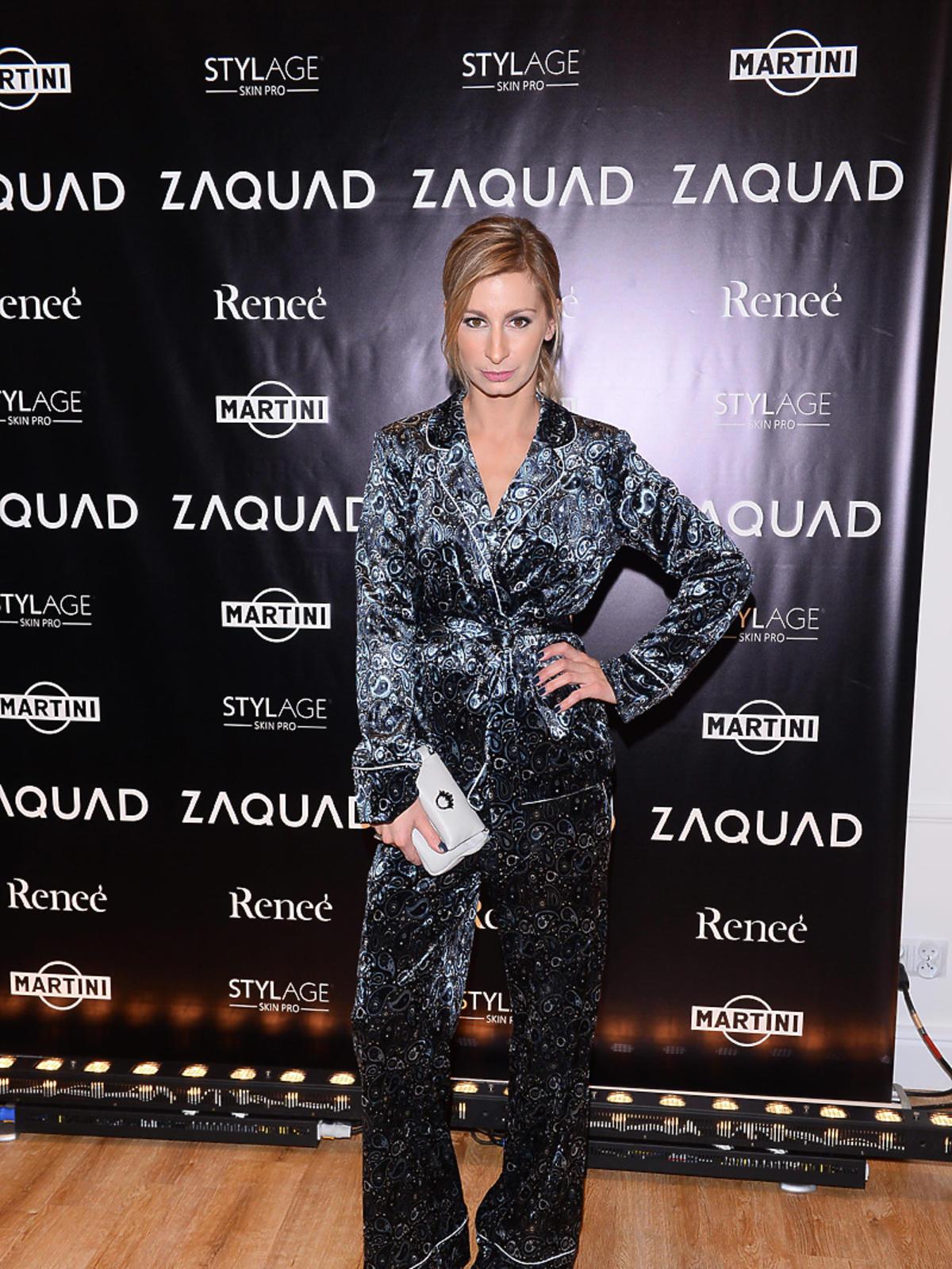 Magdalena Schejbal na imprezie Zaquad pozuje do zdjęć