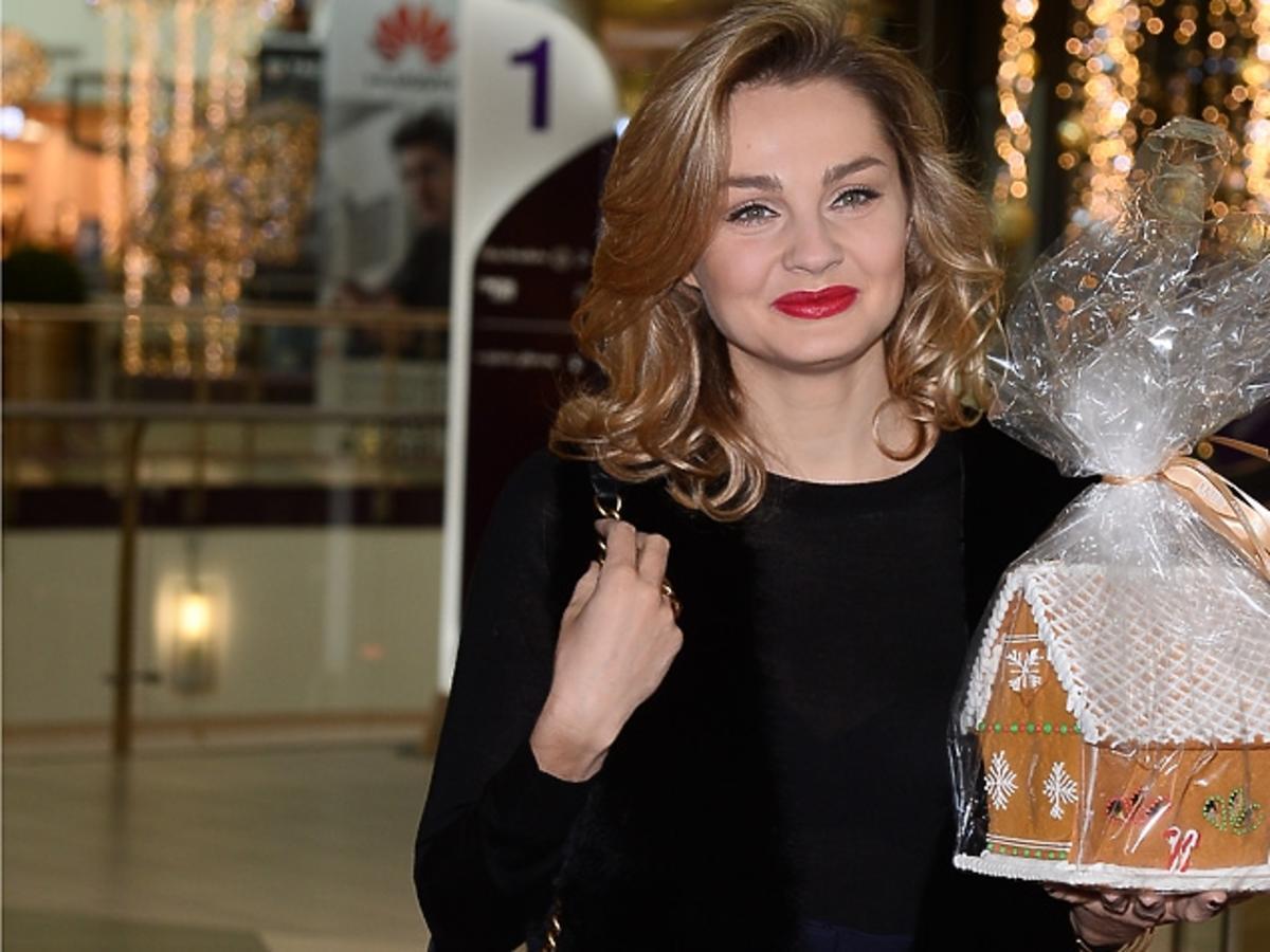 Małgorzata Socha na pokazie perfum La Mania