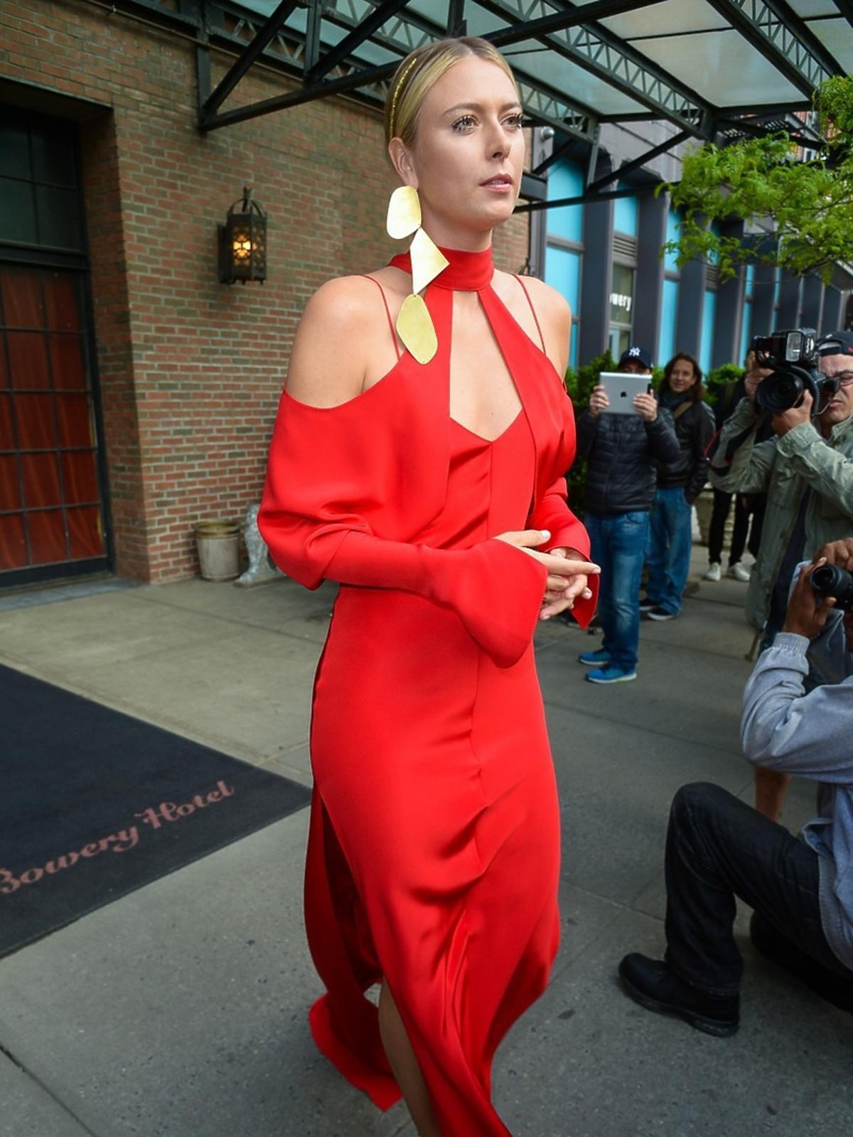 Maria Sharapova na MET Gala 2016 w Nowym Jorku