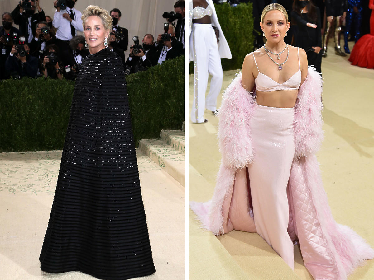 Met Gala 2021: Sharon Stone i Kate Hudson
