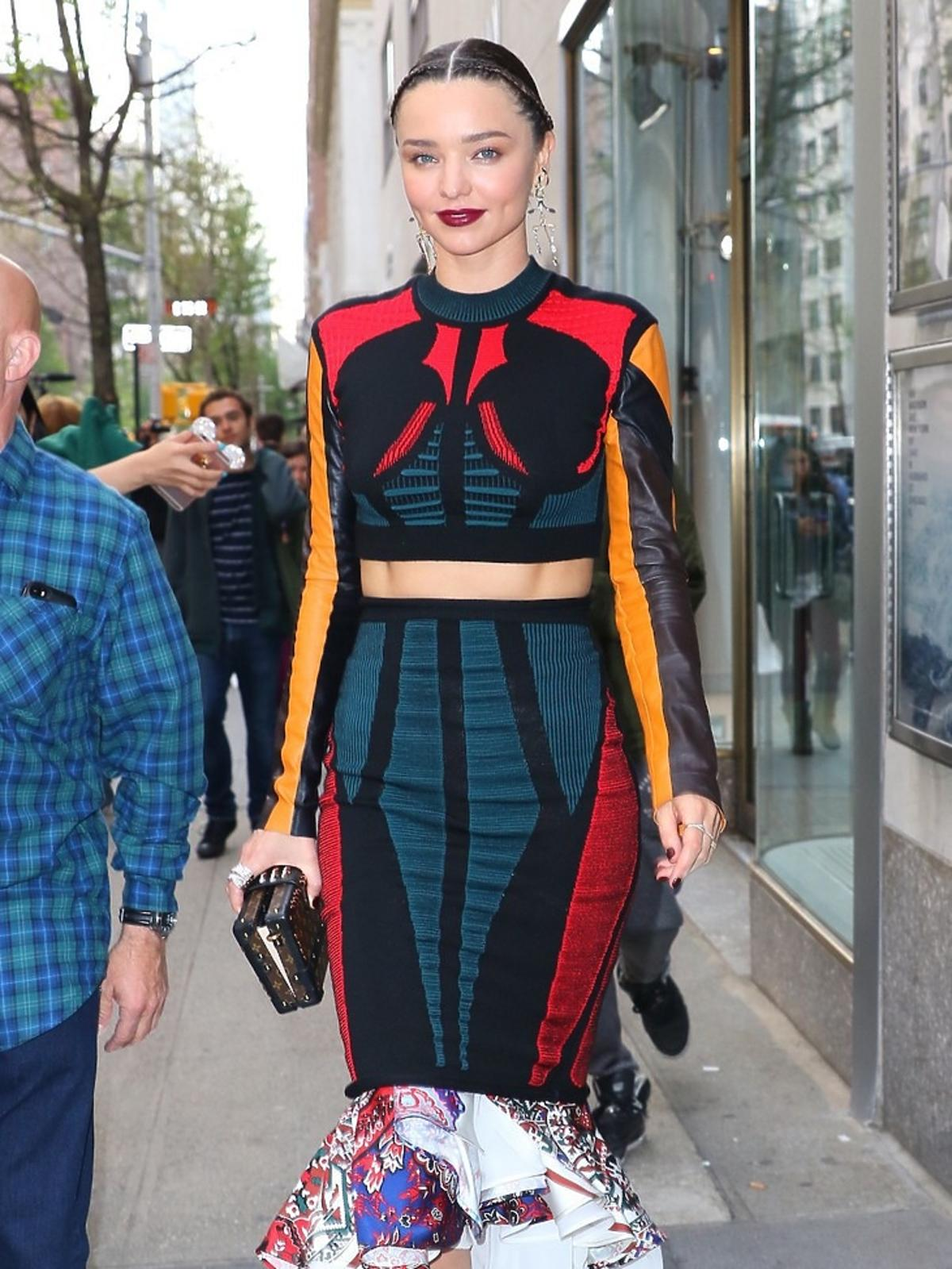 Miranda Kerr na MET Gala 2016 w Nowym Jorku