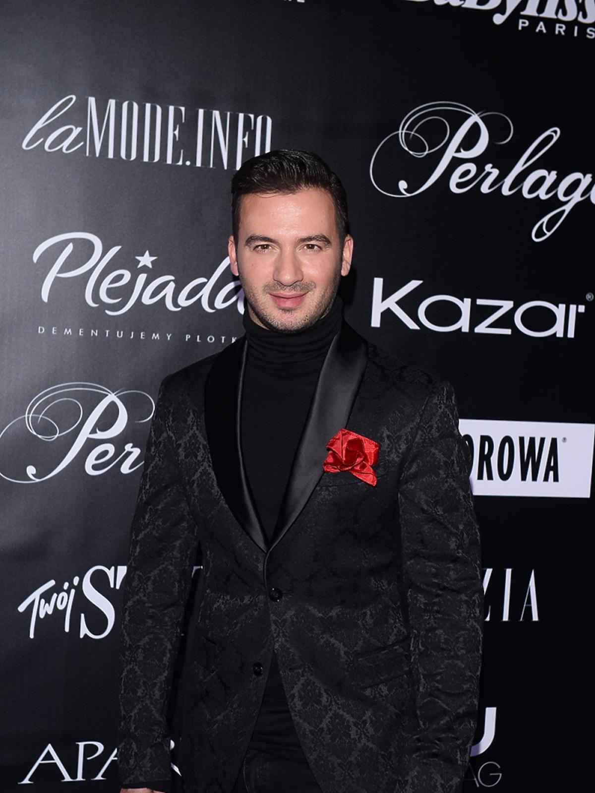 Stefano Terrazzino w czarnym garniturze