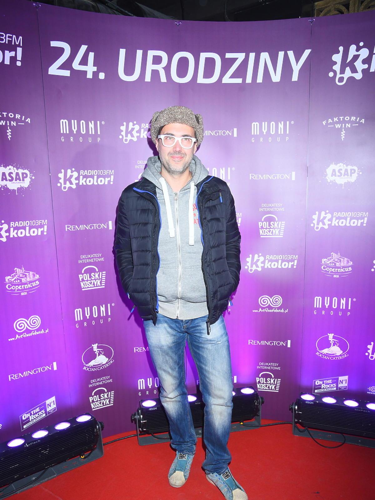 DJ Adamus na urodzinach Radia Kolor