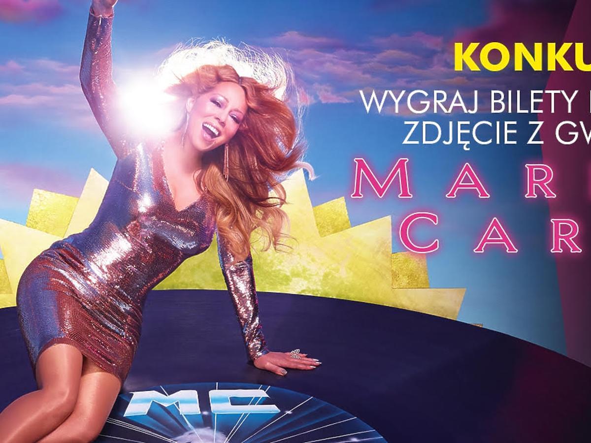 Mariah Carey plakat konkursowy