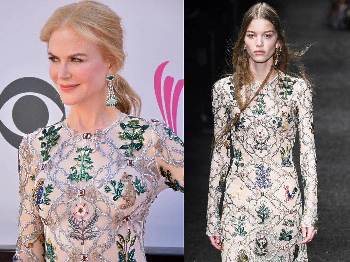 Nicole Kidman w sukni Alexandra McQueena na gali ACM