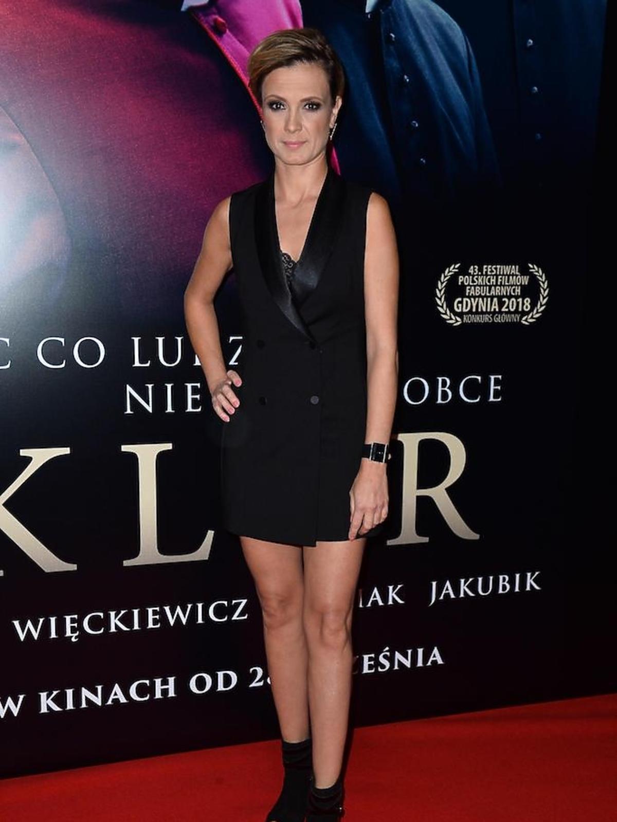 Paulina Chylewska na premierze filmu Kler