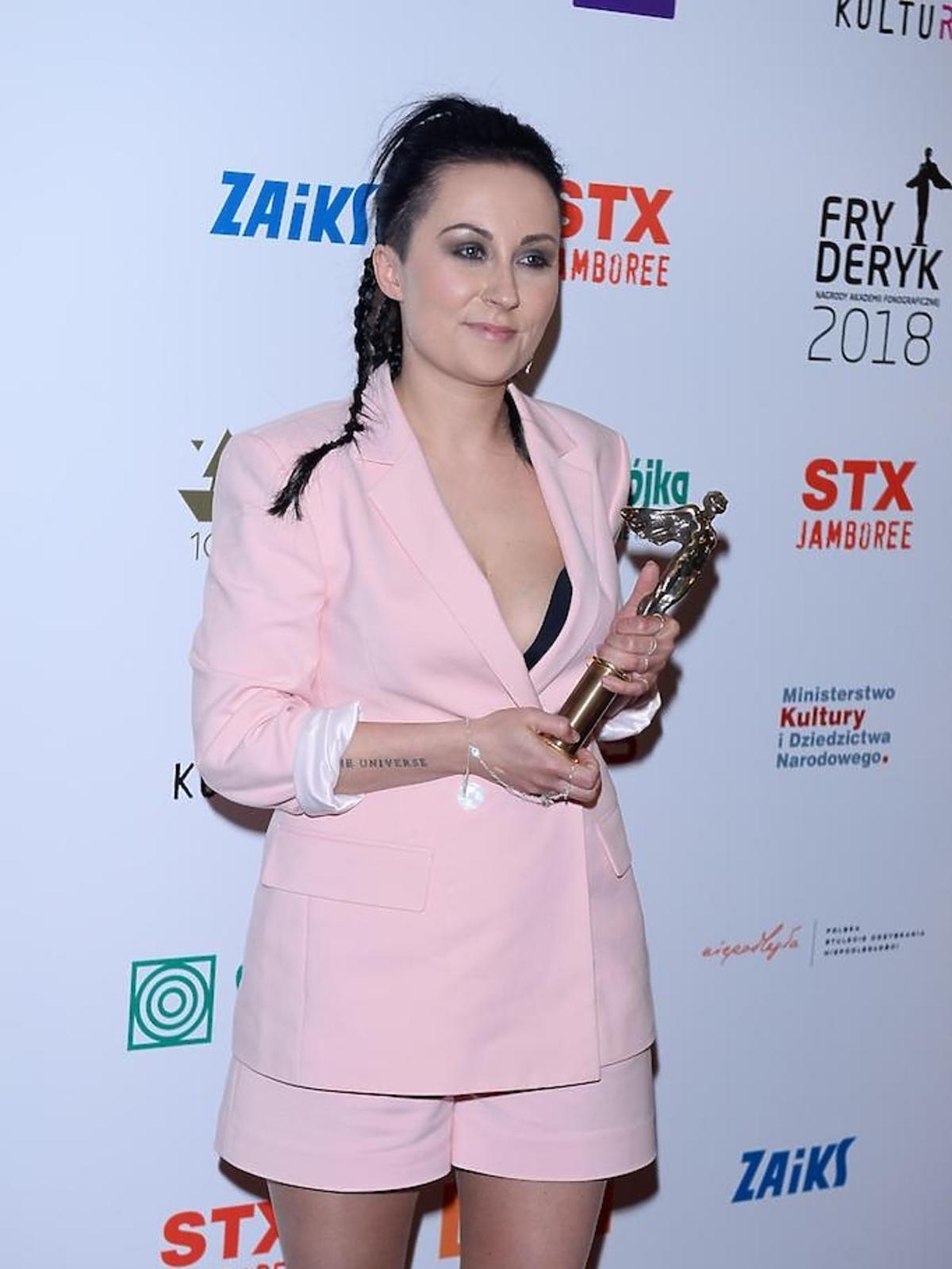 Paulina Przybysz na Fryderykach