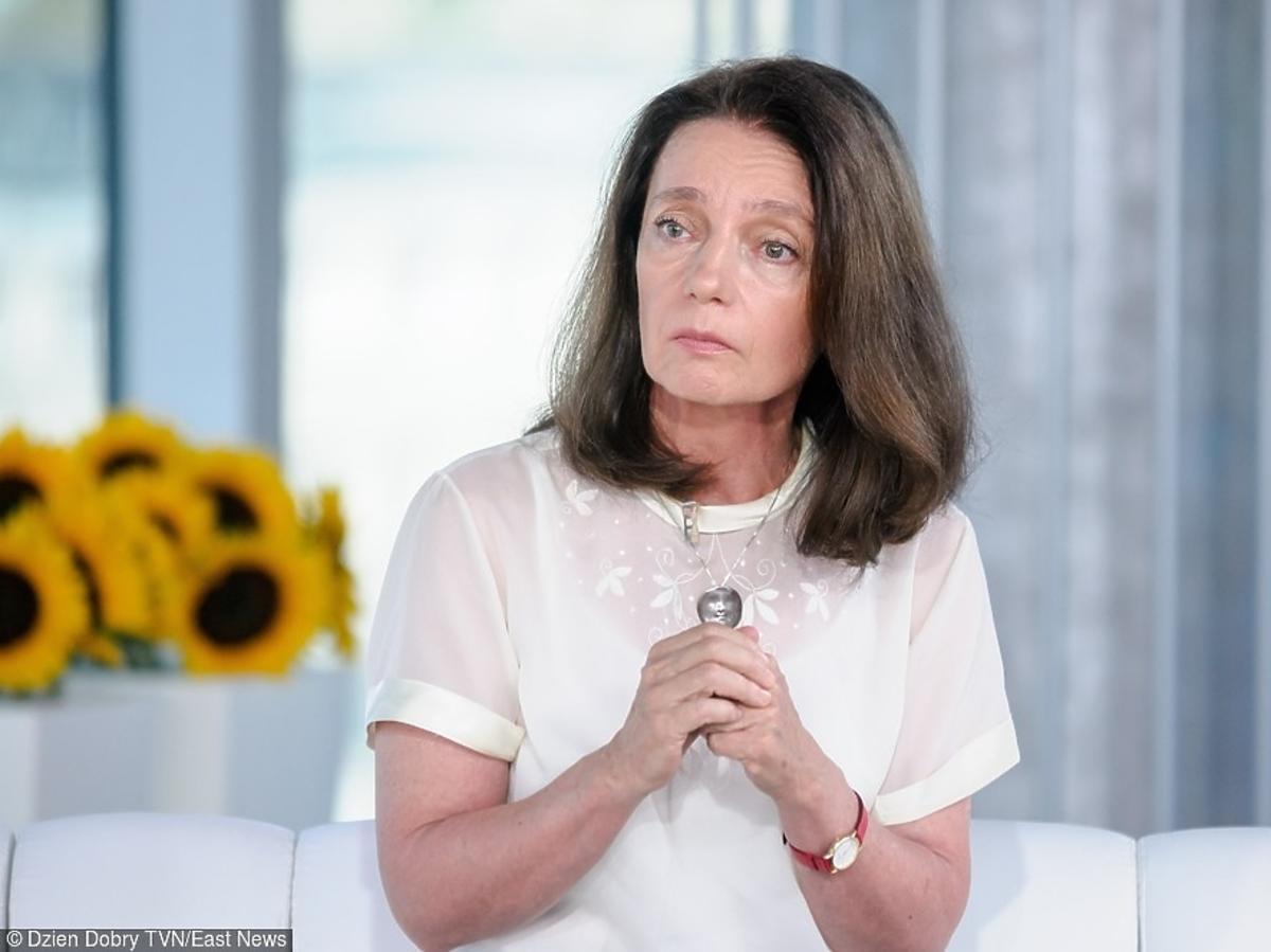 Aktorka Barbara Sienkiewicz