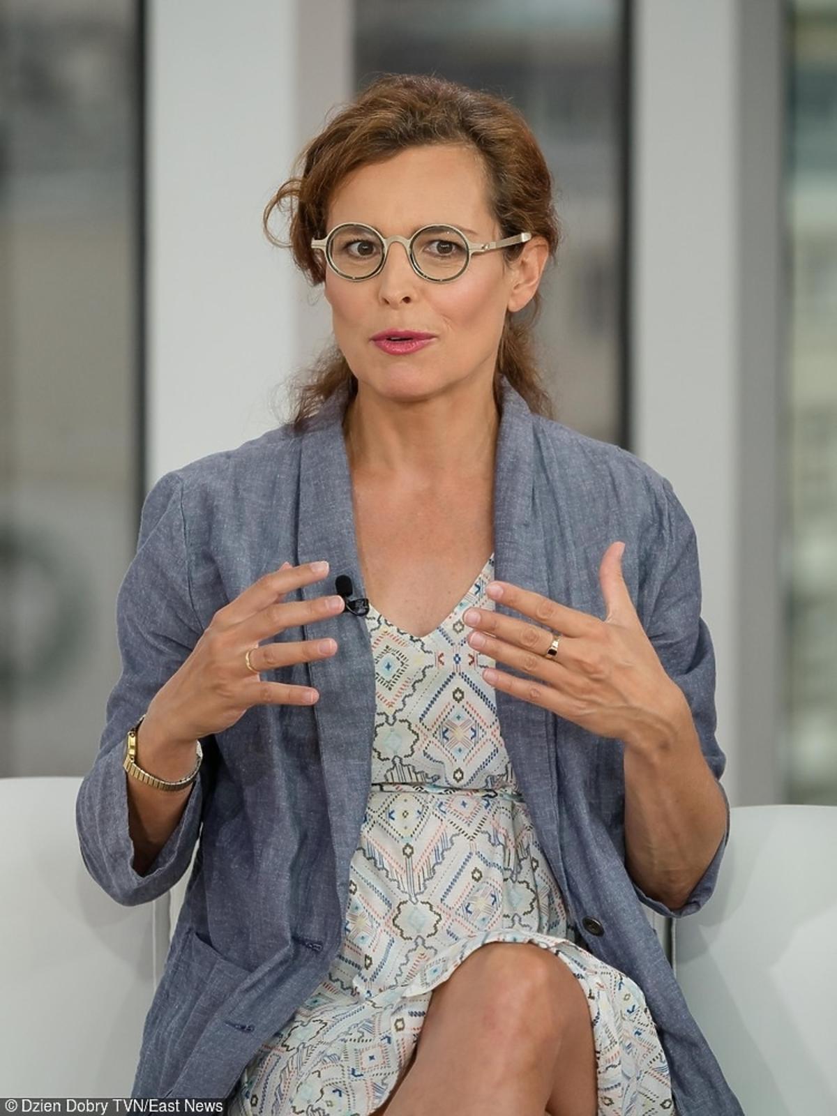 Agata Passent w ciązy w Dzień Dobry TVN