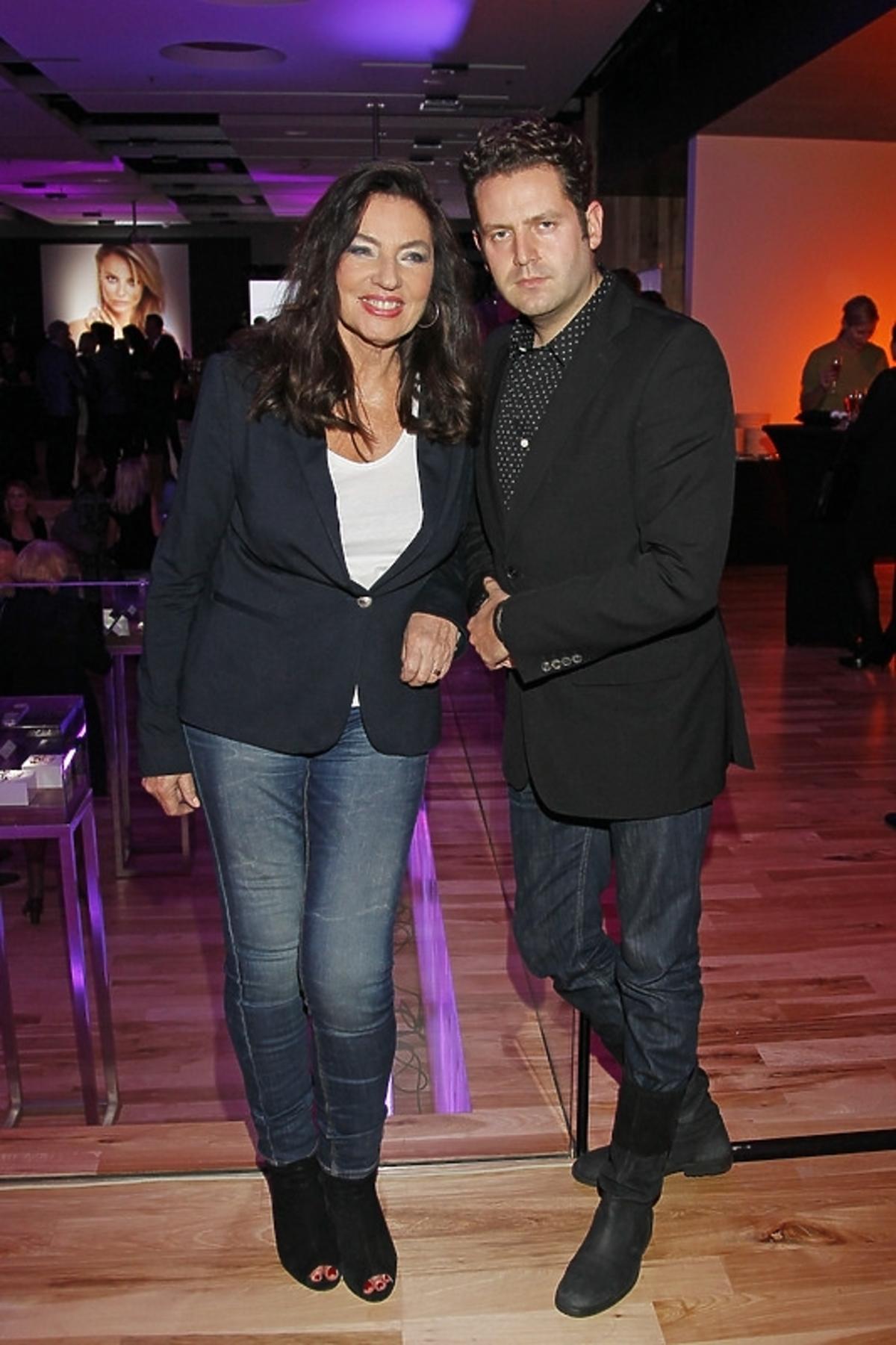 Agnieszka Fitkau-Perepeczko i Michał Olejnik na premierze kalendarza YES 2013