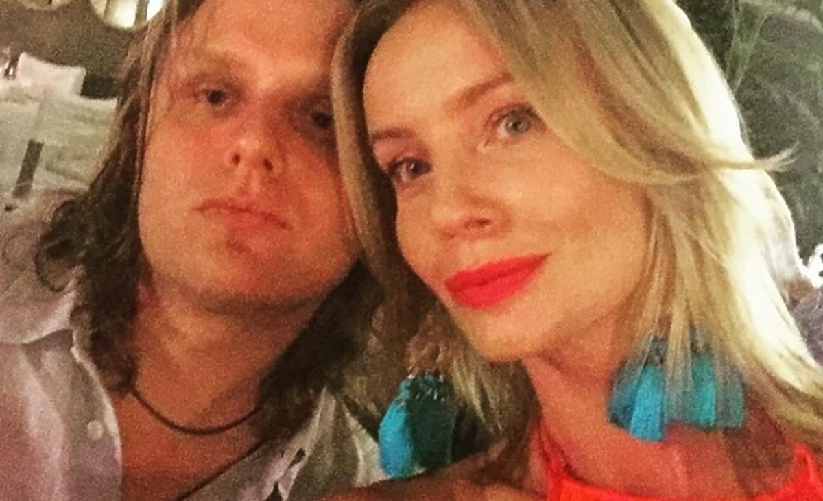 Agnieszka Szulim i Piotr Woźniak-Starak na imprezie